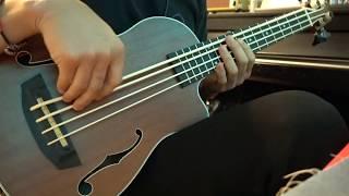 Kala U-Bass Journeyman with Aquila Thundergut Strings