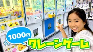 1000円クレーンゲームチャレンジ!ユニコーン ラプンツェル セーラームーン ガチャにも挑戦 ✨ ☆ Saaaaaya