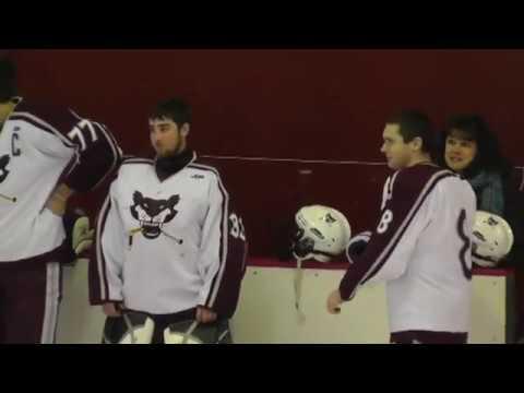 NCCS - Saranac Hockey  2-9-13