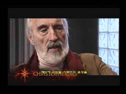 [PS2] The Lord of the Rings The Return of the King - Interview (Christopher Lee)