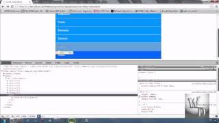 49 css ile dikey menu yapimi ve css3 komutlari ile desteklenmesi