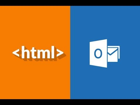 embed html template on outlook 2016 email client youtube