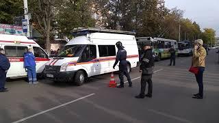 Троллейбус насмерть сбил пешеходов в Орле