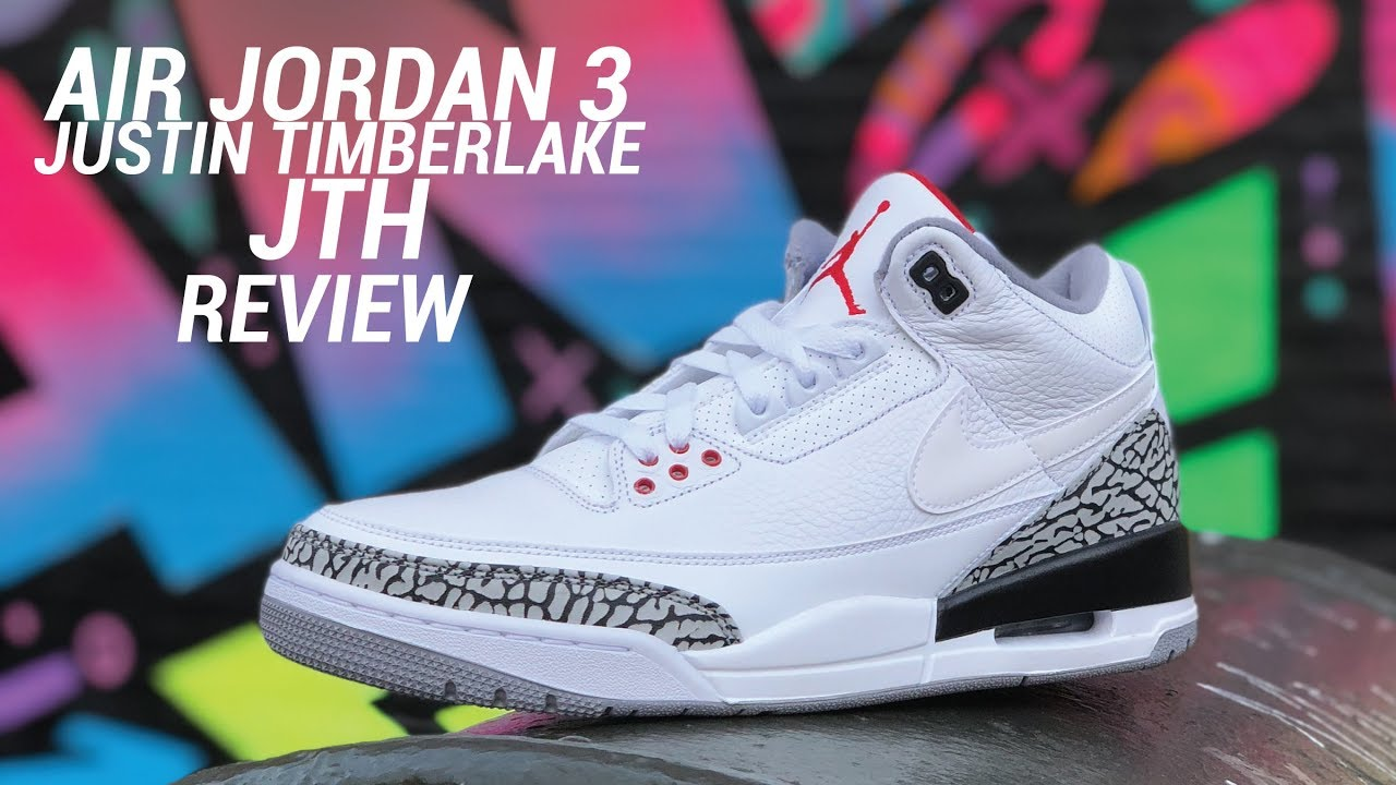 87bb8a5066c6 AIR JORDAN 3 JTH TINKER JUSTIN TIMBERLAKE REVIEW - YouTube
