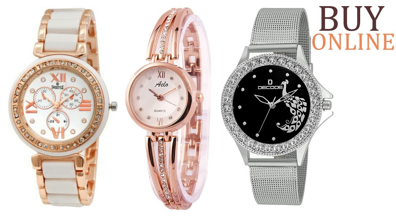 6e332318f7b Latest wrist watches for women on amazon | stylish wrist watches for girls/ women online