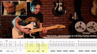 "How to Play ""Another Brick in the Wall P.2"" by Pink Floyd - Legendary Riff #7"