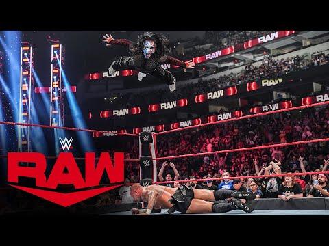 Jeff Hardy vs. Karrion Kross: Raw, July 19, 2021