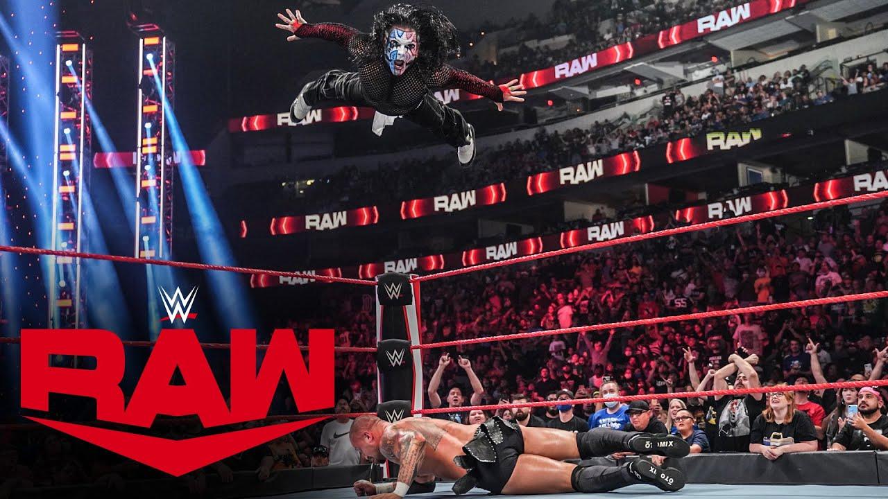 Jeff Hardy vs. Karrion Kross: Raw, July 19, 2021 - YouTube