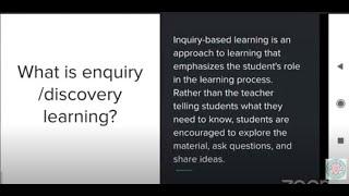Webinars for DIET & CTE Students  Enquiry Through Foldscope.