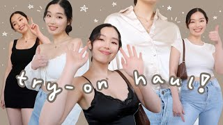 trying on cute clothes out of my comfort zone (princess polly try-on haul)