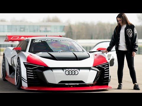 A GIRL'S GUIDE TO: Audi e-tron Vision Gran Turismo