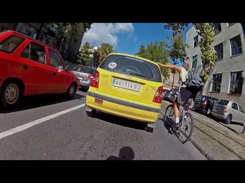 Belgrade, Serbia - Bicycle Commute 2013-09-04