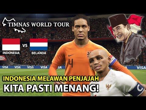 HANCURKAN PENJAJAH!! INDONESIA VS BELANDA | TIMNAS WORLD TOUR | PES 2019