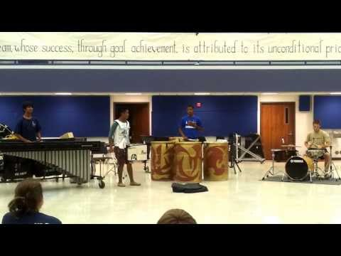 2012 Leander High School Drum-a-thon Cadence Contest - DrumZ ( Cadence Name Unknown )