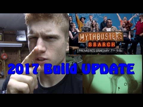 Mythbusters! - Christmas break Builds Update