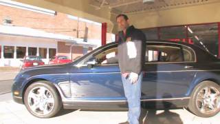 2007 Bentley Flying Spur for sale with test drive, driving sounds, and walk through video