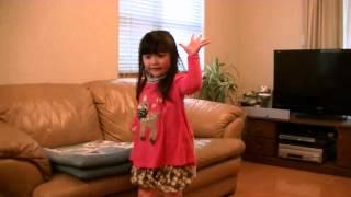 4歳になる芽唯ちゃんの「笑顔がE-ネ」