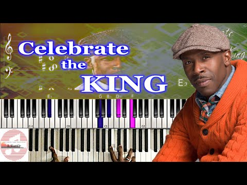 *Easy* Ricky Dillard  - Celebrate the King 🎹 Tutorial thumbnail