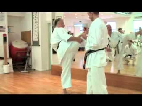 Karate Makotokai Black Belts lesson