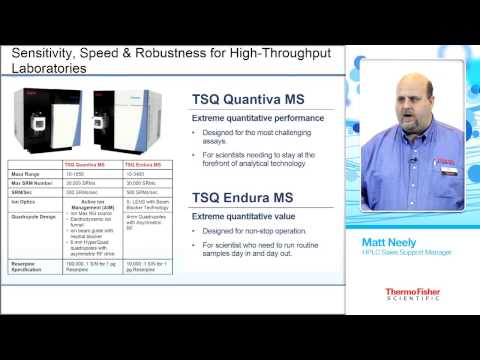 Pittcon 2015 Seminar: Accelerate your Quantitative LC/MS Workflows with Fully Integrated UHPLC-QQQ