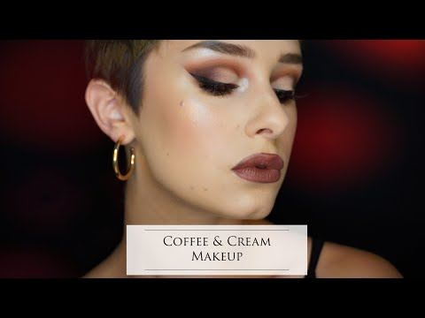 Coffee and Cream Fall Makeup Tutorial [cut-crease] thumbnail