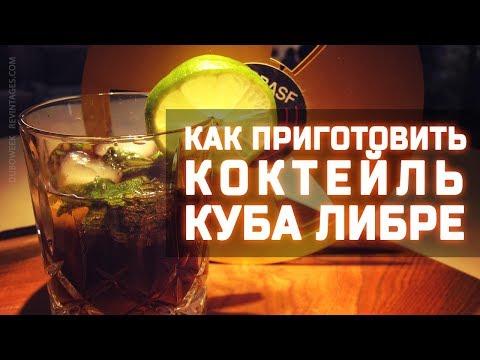 Как приготовить коктейль куба либре, классический состав, кубинский рецепт, ром плюс лайм или мята.