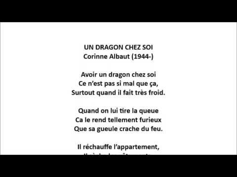 un dragon chez soi corinne albaut youtube. Black Bedroom Furniture Sets. Home Design Ideas