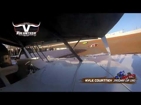 #144 Kyle Courtney - #Grinch40 Crate - 12-7-19 Volunteer Speedway - In-Car Camera