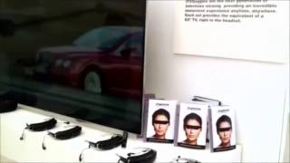 itvgoggles wearable 3d tv video glasses