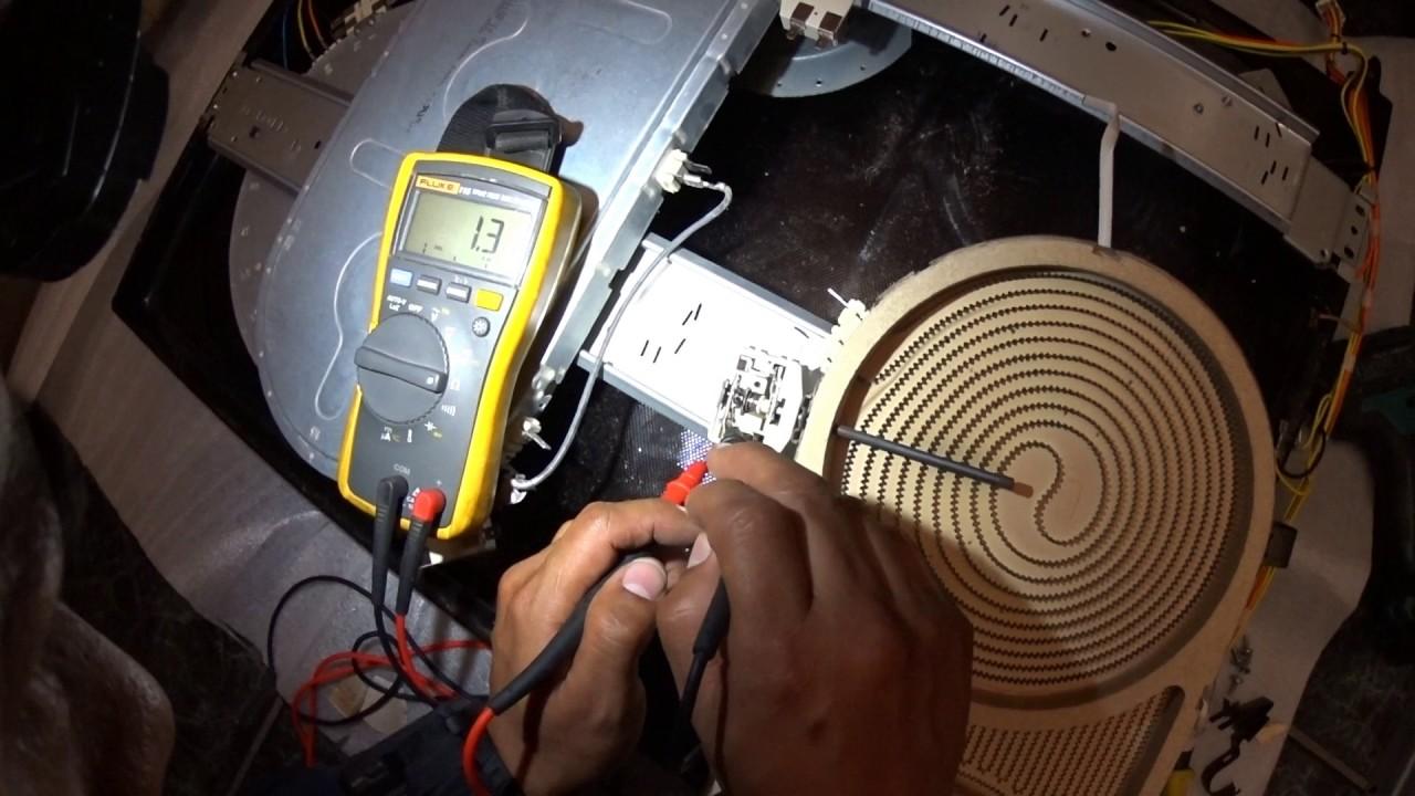 Samsung Stove hot indicator light not turning off