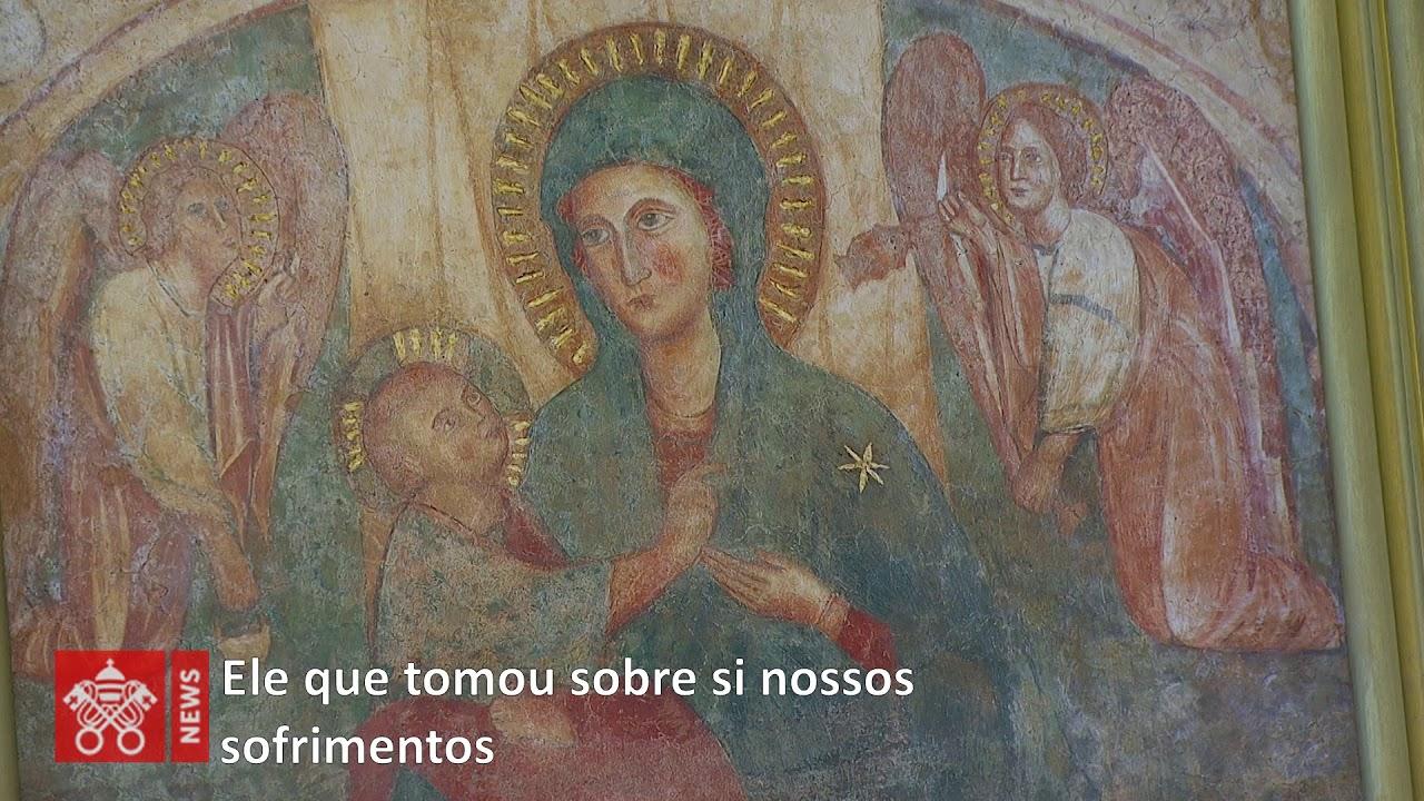 A oração do Papa Francisco: Maria, nós nos entregamos a Ti