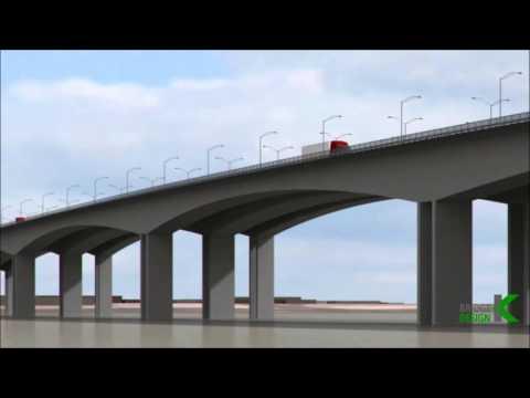 Bridge over Niger river, Onitsha, Nigeria ( Conceptual Design - var 2 )