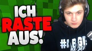 WIE GUT KENNT ABGEGRIEFT ABGEGRIEFT? - ICH RASTE AUS!! - Minecraft Abgegrieft