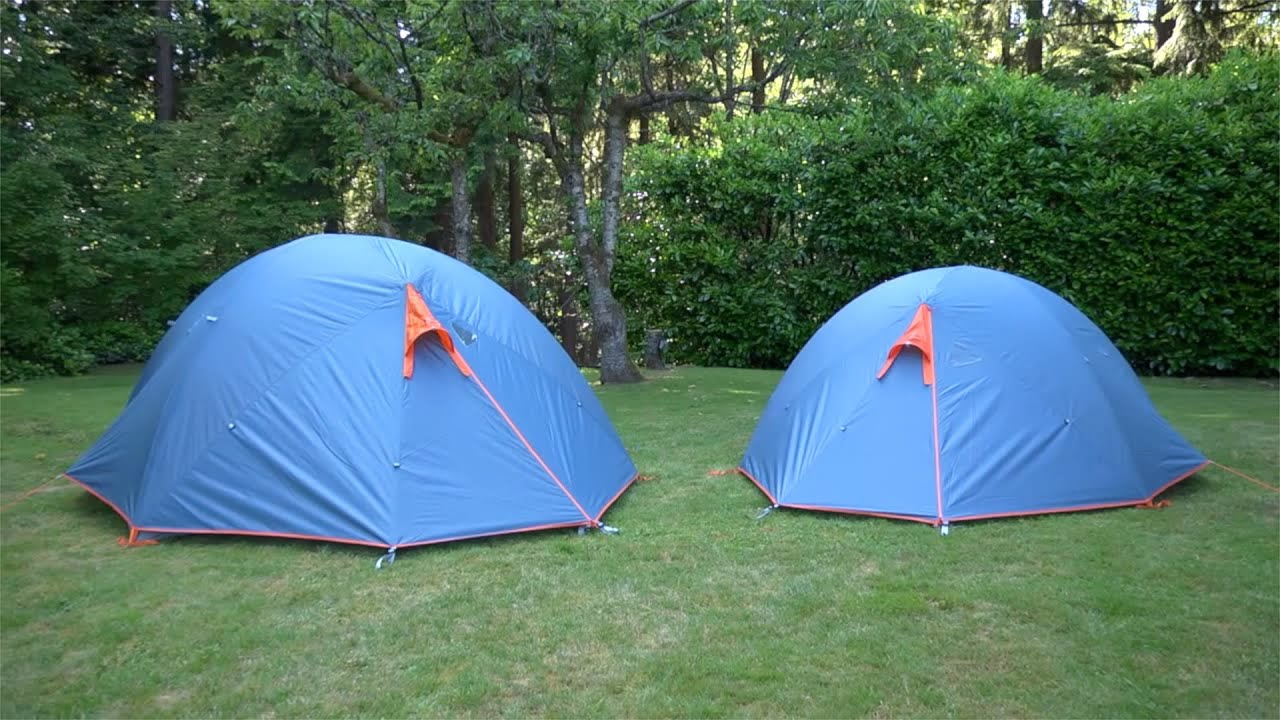 & MEC Wanderer 2 u0026 4 Tents - YouTube