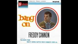 "Freddy Cannon (w pix) - ""Palisades Park"" (UK Stateside demo) 1962"