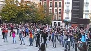 Flash Mob Mamma Mia Madrid