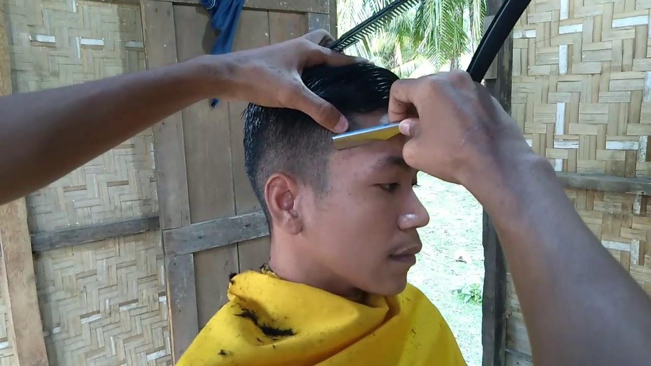 Potong rambut pria model rapi - YouTube