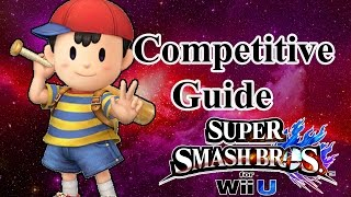 Super Smash Bros. for Wii U - Ness Competitive Tutorial