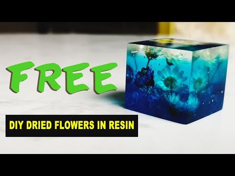 DIY Dried Flowers in Resin | ART RESIN