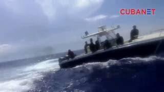 Balseros son interceptados por guardacostas cubanos
