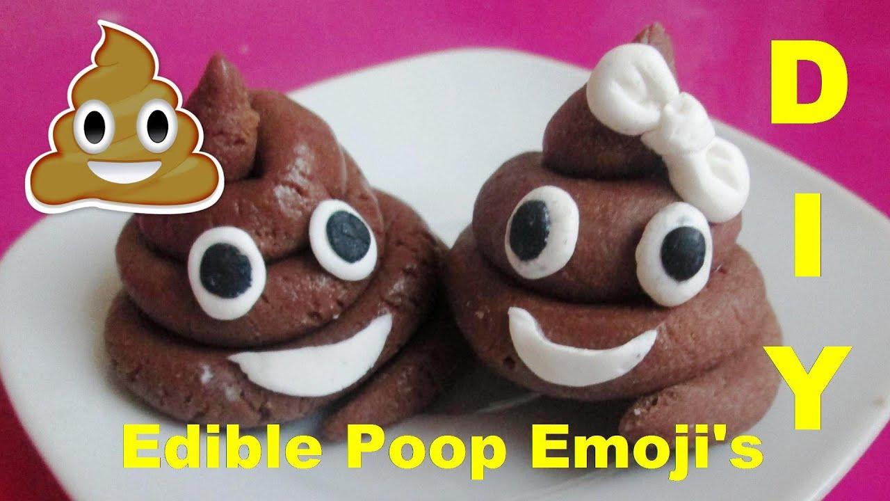 Poop Emogi Cake