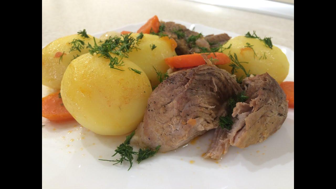 Картофель с Мясом Тушеный! Жаркое! Клифтико! Очень вкусно ...