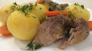 Картофель с Мясом Тушеный! Жаркое! Клифтико! Очень вкусно!