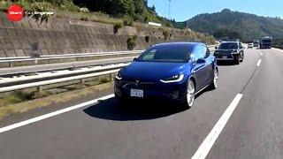 テスラ・モデルX vs レクサスLX570 vs メルセデス・ベンツG550 / Tesla Model X vs Lexus LX570 vs Mercedes-Benz G550