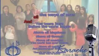Above All (CFC - Karaoke) - Couples for Christ Songs Music Ministry CLP lyrics