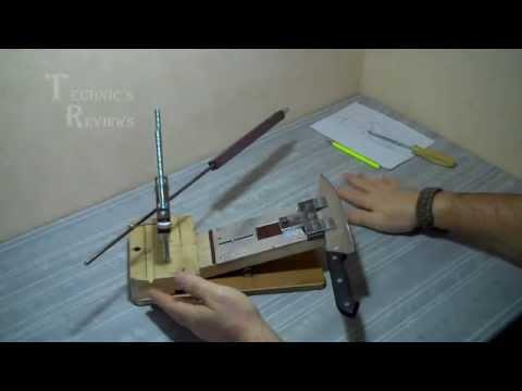 Эффективная заточка кухонных ножей как правильно заточить нож