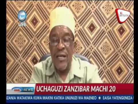 ZEC Yatangaza Tarehe Ya Marudio Ya Uchaguzi Visiwani Zanzibar