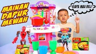 Mainan Anak Masak Masakan jadi Koki Cilik Dengan Dapur Besar | Kitchen Set And Cooking Toys For Kids