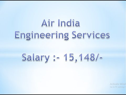 Govt Job || Jobs || Air India Engineering Services