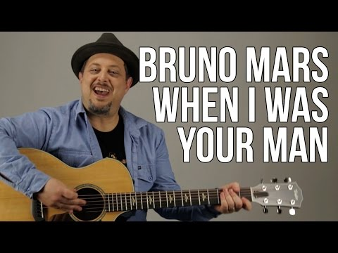 Bruno Mars - When I Was Your Man - Guitar Lesson - How to Play Easy Songs on Guitar